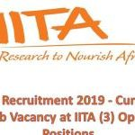 IITA Recruitment 2019 | International Institute of Tropical Agriculture