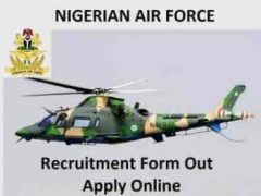 Nigerian Airforce Shortlist 2020/2021 pdf | See the List of Successful Candidate for Nigerian Airforce 2020 | www.airforce.mil.ng