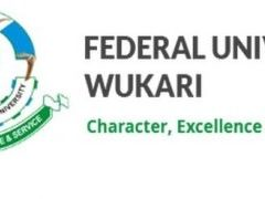 Federal University, Wukari Recruitment 2019/2020 Application Form Portal | www.fuwukari.edu.ng